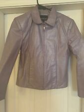 Womens Adler Collection Leather Lillac med