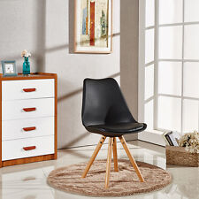 Tower Piramide Dining Chair Sophie Scandinavian White Black Grey Red ABS Wood