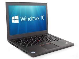 Lenovo ThinkPad X270 Core i5-6300U 8GB 256GB SSD HDMI WiFi WebCam W10 Pro
