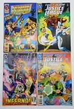 Justice League International 52 57 61 & Quarterly 17 DC Comics Lot of 4 June 93