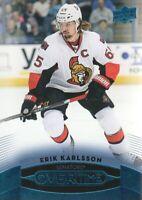 2015-16 Upper Deck Overtime Blue #17 Erik Karlsson Ottawa Senators