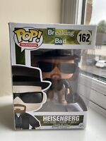 Funko Pop! Vinyl Breaking Bad Heisenberg #162 Vaulted  Rare Box Damaged