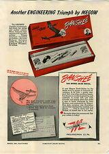 1946 PAPER AD Megow Banshee Gas Model Airplane Plane Motor