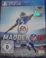 Playstation 4 PS4 Madden NFL 16