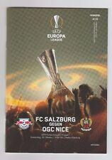 Orig.PRG   Europa League   2016/17   RED BULL SALZBURG - OGC NIZZA  !!  SELTEN