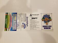 Kansas City Royals 1987 MLB Baseball Pocket Schedule - Americana Hotel