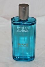 COOL WATER WAVE MEN DAVIDOFF 4.2 OZ 125 ML EDT EAU DE TOILETTE SPRAY 99% full