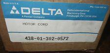 NOS Delta Motor Cord 438013020572 Sawbuck 33-150 T1 Sawbuck Frame & Trim Saw