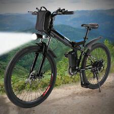 26'' Electric Bike E-Bike Moutain Bicycle Folding Cycling Shimano 21Speed 250W