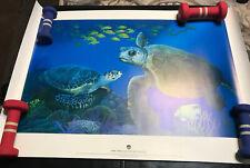 Mote Marine laboratory Danka Industries Sea Turtle Print Majestic Reef Garcia
