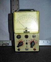 Vintage Heathkit Vacuum Tube Model V-5 Voltmeter by Simpson Elec. Co.