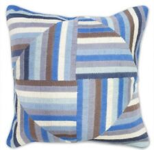 JONATHAN ADLER Bargello Needlepoint Windmill Pillow, Down Insert, Retail $175