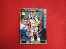Suzie McConnell Serio autograph basketball card  PITT WBNA SI for Kids signature