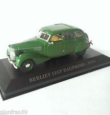 Voiture 1/43 BERLIET 11CV DAUPHINE - 1939 -1/43  Diecast Car CCC009