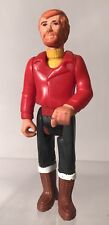 Vintage Adventure People Male Mountain Climber Figure 1974 FP 351 Red Shirt Rare