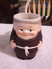 "Rare Old Vintage Goebel West Germany Friar Tuck Monk Cup 4 1/4"" Tall 1950"