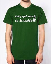 Let's Get Ready to toparse Camiseta el día de San Patricio Fiesta borracho grupo irlandés