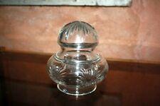 Superbe Globe tulipe Obus pour lampe ou lustre en cristal Baccarat ? ...