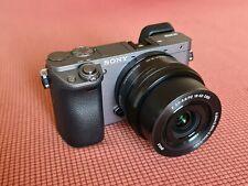 Sony Alpha 6000 24.3MP Mirrorless + KIT 16-50mm F3.5-5.6 COME NUOVA PERFETTA
