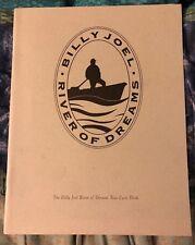 BILLY JOEL RIVER OF DREAMS TOUR LYRIC BOOK (Rare OOP, Garden)