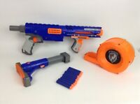 Hasbro Nerf N-Strike Raider CS-35 Dart Gun w/ Drum Magazine Stock & 10 Darts