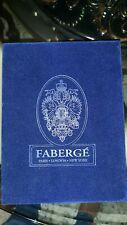 "Faberge` Blue Velvet Vintage Box( 8""x6""x4"")"