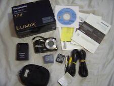 Panasonic LUMIX DMC-TZ3 7.2MP Digital Camera - Black 10x Optical Zoom Leica Lens