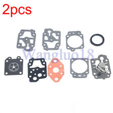 2Xcarburetor Repair Kit for Troy-Bilt Tb26Tb Tb475Ss Tb490Bc Tb425Cs 753-04296