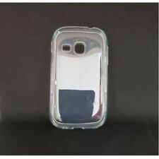 SILICONE CASE COMPATIBILE SAMSUNG S6310 GALAXY YOUNG WHITE TRASPARENTE