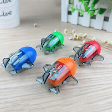Cute Cartoon Aircraft Plastic Pencil Sharpener Machine For Kids Gift Funny CE
