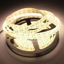 16.4FT 5M 600leds Super Bright 3528 SMD LED Strip Warm White N0-Waterproof DC12V
