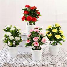 Jardín/Decoración Con Maceta Exterior Flor Artificiales Falso Plantas Flores