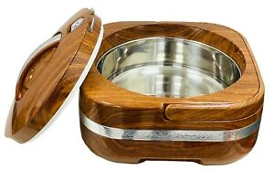 High Quality Hot Pot Food Warmer Serving Pan Dish Squared Insulated Casserole