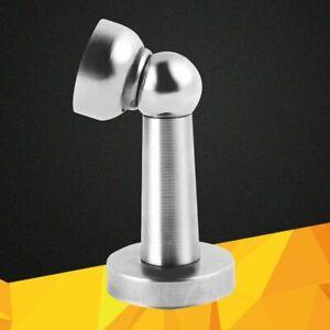 Magnetic Door Stopper Stainless Steel Thickened Hardware Locks Noiseless Holder