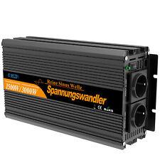 EDECOA Inversor 12V a 220V Onda Pura 1500W Transformator control remoto USB