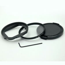 AT663 58mm UV Filter with Lens Cap and Adapter for GoPro Hero 5 / Hero 6