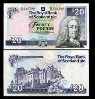 SCOTLAND 20 POUNDS 2007 P 354 UNC