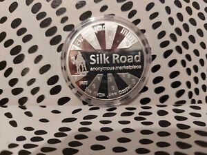 Bitcoin Silk Road Silver  Crypto Physical Coin