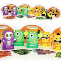 28 Piece Haunted Halloween Boo Crew Monsters Party Candy Hunt Game