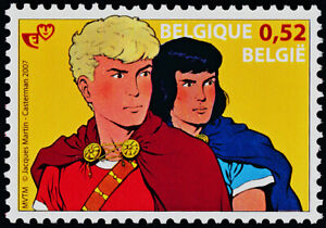 """Belgium 2223 MNH 'Alix"""" Comic Strip, Cartoon"""