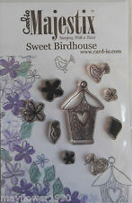 Card-io  Clear Stamp Set SWEET BIRDHOUSE birds flowers set of 9