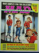 Sept 1992 MAD SUPER SPECIAL Magazine Complete Star Trek Collection