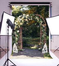 6.5*8Ft Vinyl Background Garden Wreath Wedding Photography Photo Backdrop Studio