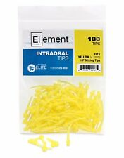 100 Element Intraoral Mixing Tips YELLOW VPS PVS Impression Disposable Dental