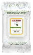Burt's Bees SENSITIVE Facial Cleansing Towelettes: 30 Face Wipes 99% Natural