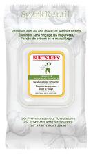 Burt's Bees Organic SENSITIVE Facial Cleansing Towelettes: 30 Face Towels/Cloths