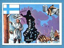 LA TERRA - Panini 1966 - Figurina-Sticker n. 151 - FINLANDIA -Rec