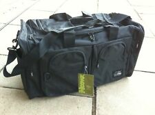 NEW 100L LARGE Sports Bag Travel Duffel, TT130 Plain Black Water-Proof