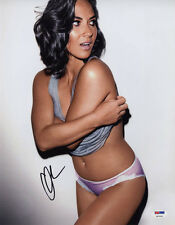 Olivia Munn SIGNED 11x14 Photo X-Men VERY SEXY LINGERIE PSA/DNA AUTOGRAPHED