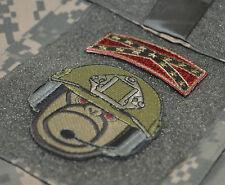 USMC SNCO GySgt hook/loop Patch: Trunk Monkey Gunnery Sgt GySgt + ASA Flag Tab
